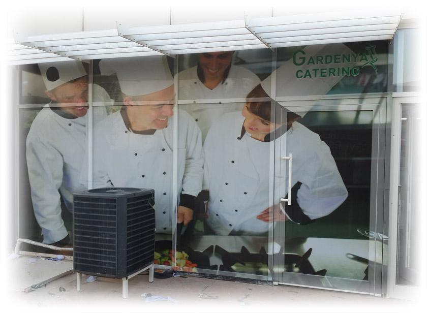 Gardenya Catering Cam Giydirme