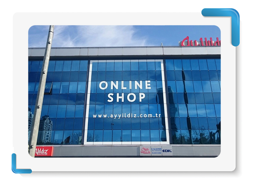 Ayyıldız Mayo Online Shop One Way Vision Cephe Giydirme
