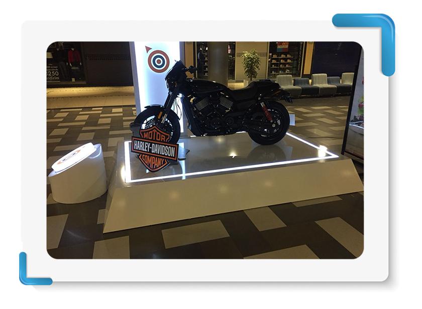 Harley Davinson Motor Stand Üretim