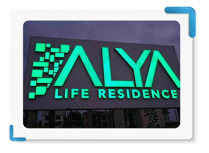 Alya Life Tabela İmalatı