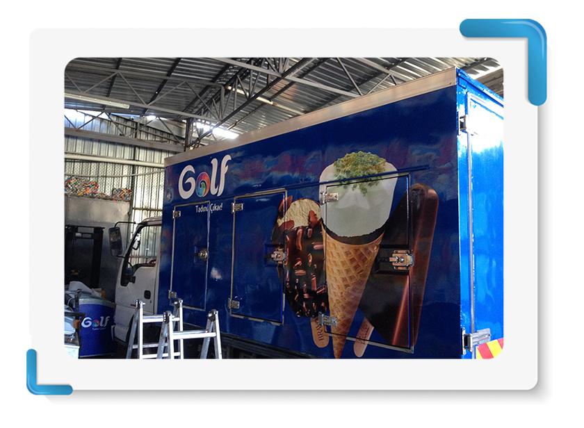 Golf Dondurma Araç Giydirme 2