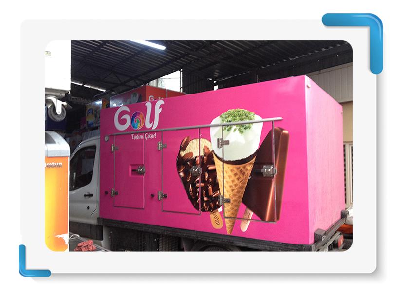 Golf Dondurma Araç Giydirme 3
