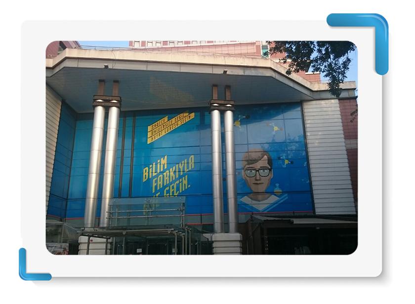 Kemerburgaz Üniversitesi One Way Vision Cephe Giydirme