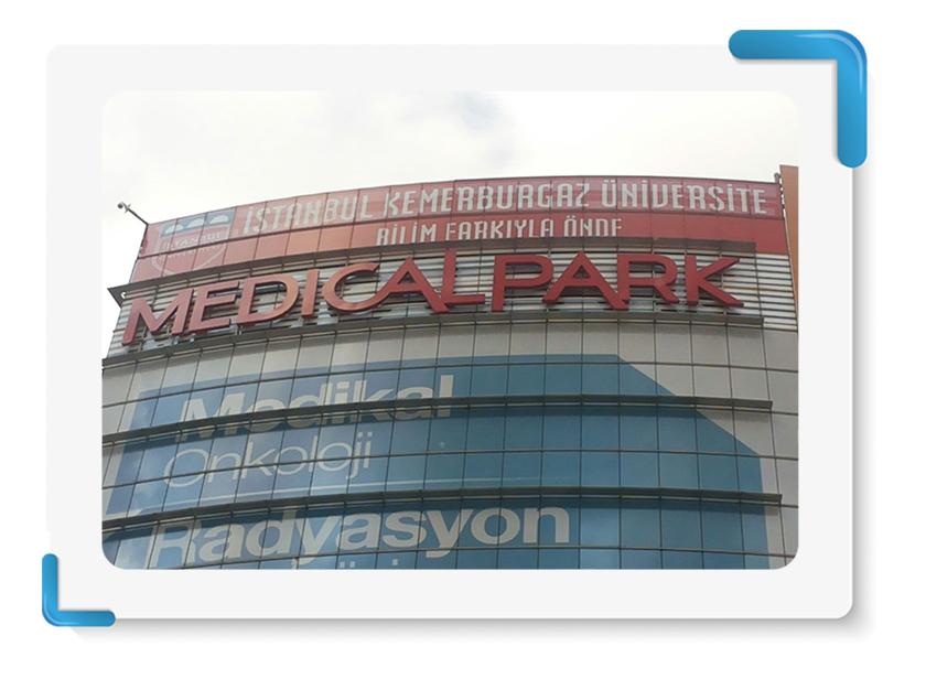 Kemerburgaz Medicalpark One Way Vision Cephe Giydirme