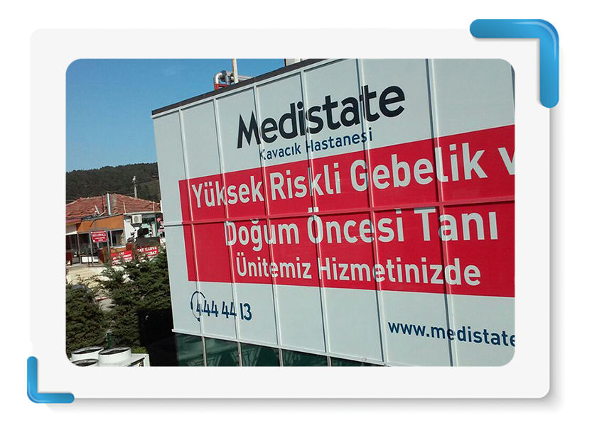 Medistate Kavacık One Way Vision Cephe Giydirme