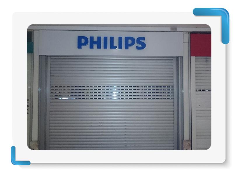 Philips Işıklı Kutu  Harf Tabela İmalatı