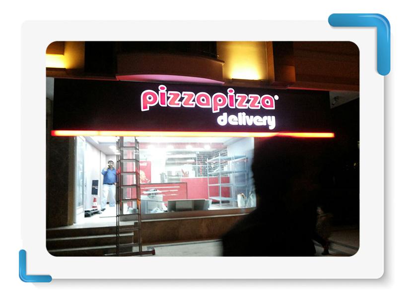 Pizza Pizza Tabela İmalatı