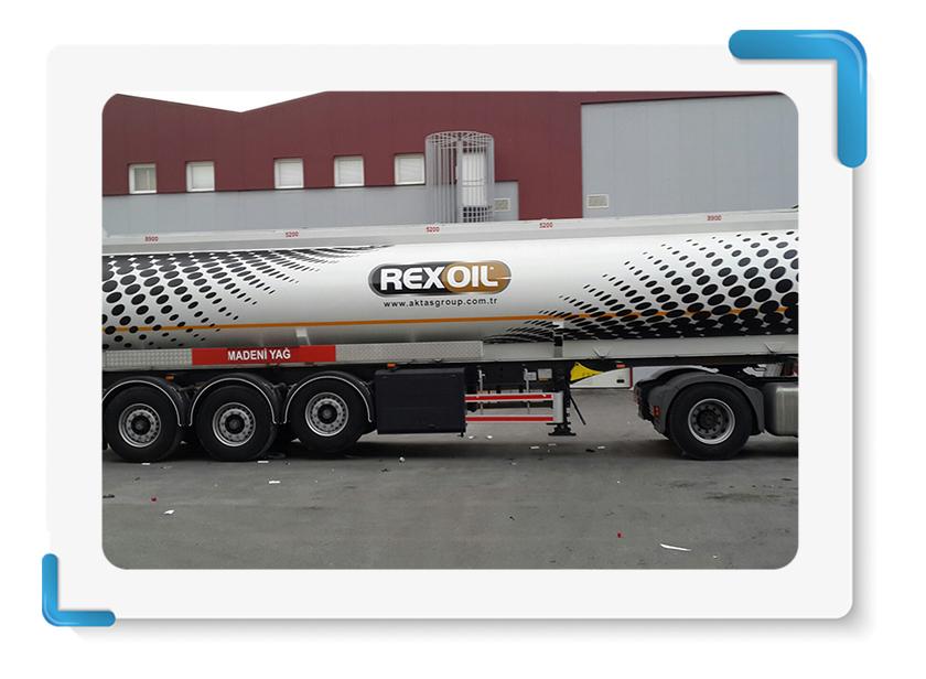 Rexoil Akaryakıt Tankeri Giydirme