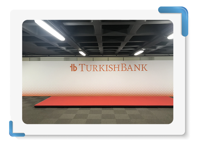 Turkish Bank Back Wall İmalatı