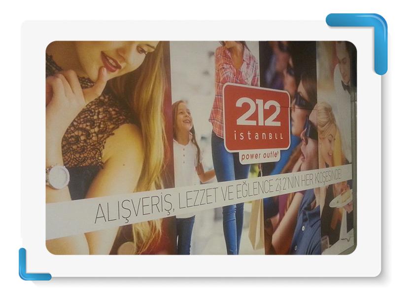212 AVM Mağaza Cephe Kapama