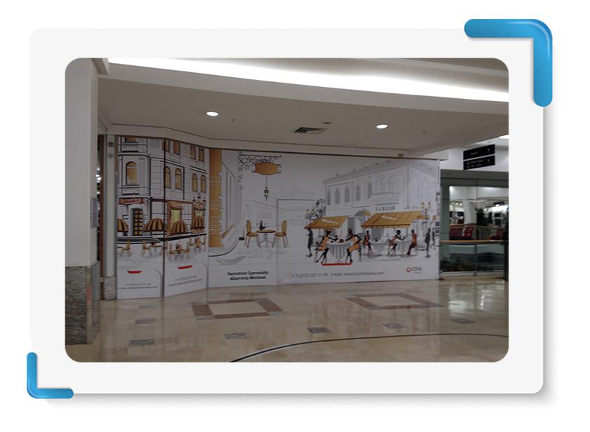 Carrefour İçerenköy Mağaza Cephe Kapama