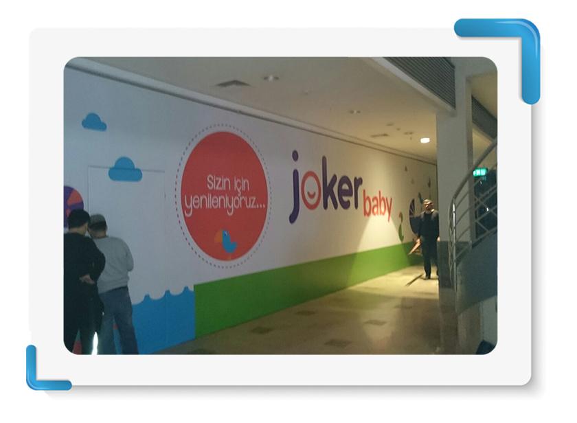 Jokerland Mağaza Cephe Kapama