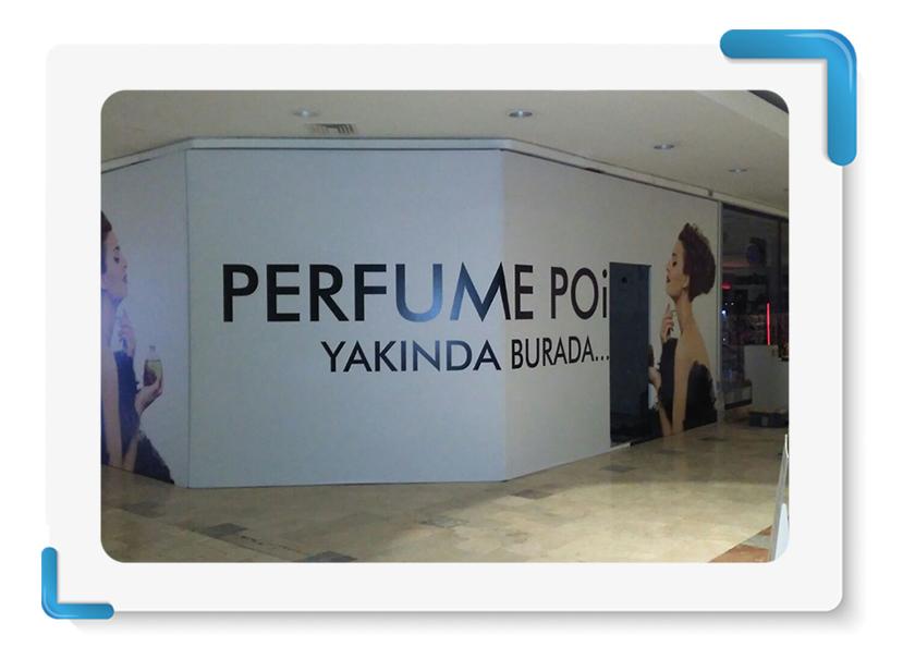Parfume Point Mağaza Cephe Kapama