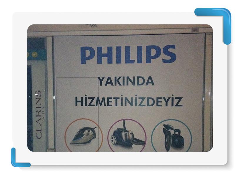 Philips Mağaza Cephe Kapama