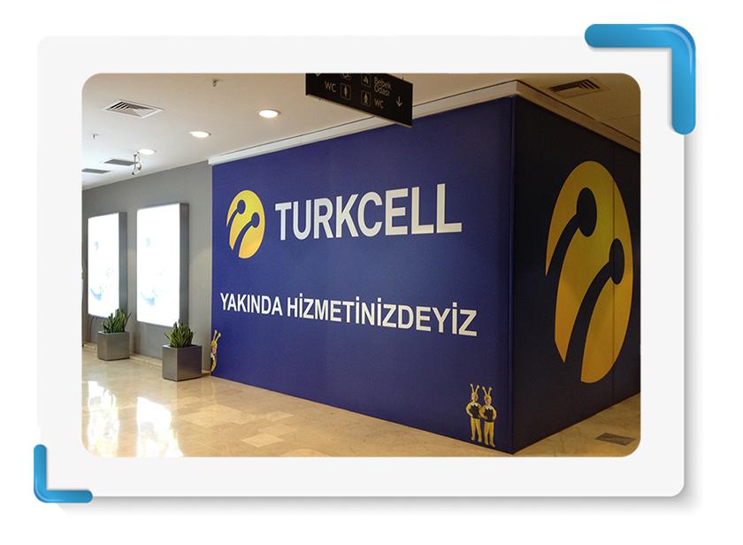 Turkcell Mağaza Cephe Kapama